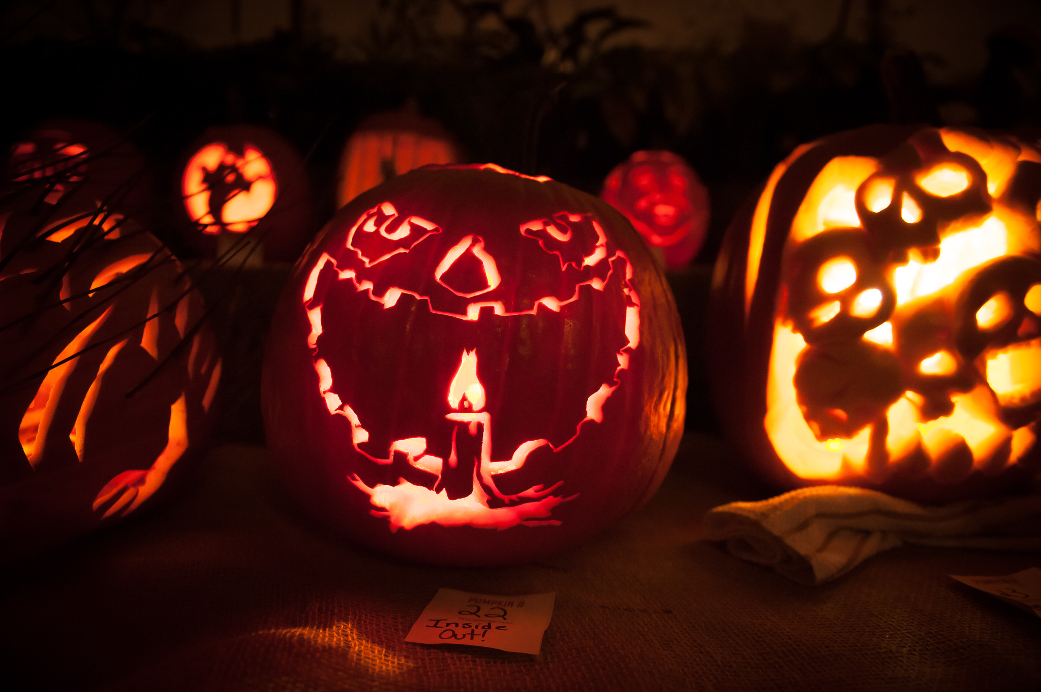 Crest Arts Pumpkin Carving Contest (2013)