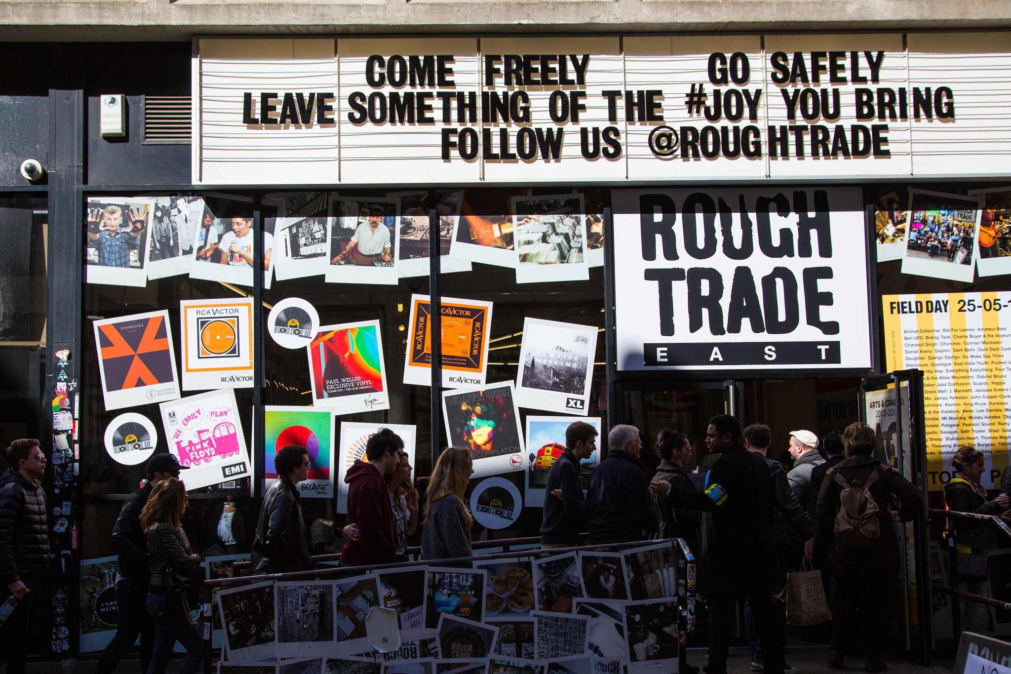 Geek out with other audiophiles at Rough Trade