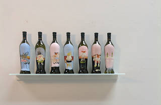 Wine Bottles by Kim Dingles