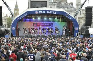 NFL Fan Rally