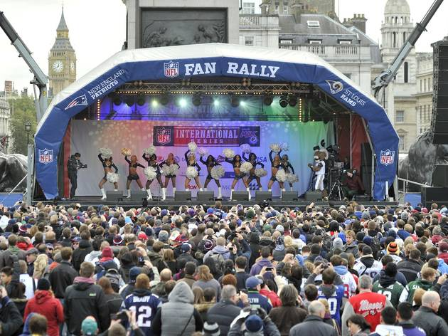 NFL Fan Rally