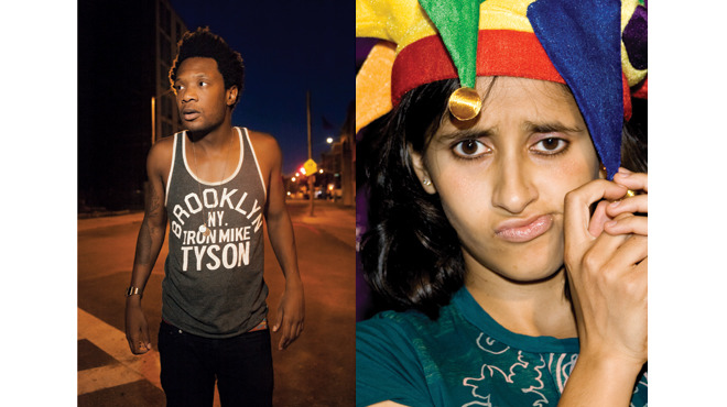 Time Out Live NYCF show stars Seaton Smith and Aparna Nancherla