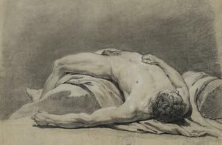 Bachelier ('Male, lying down' (undated))