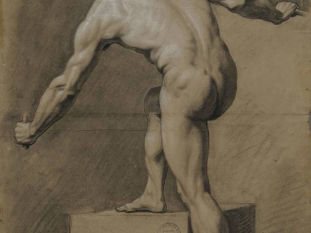 Godefroid ('Man viewed from behind, leaning to the left' (1782))