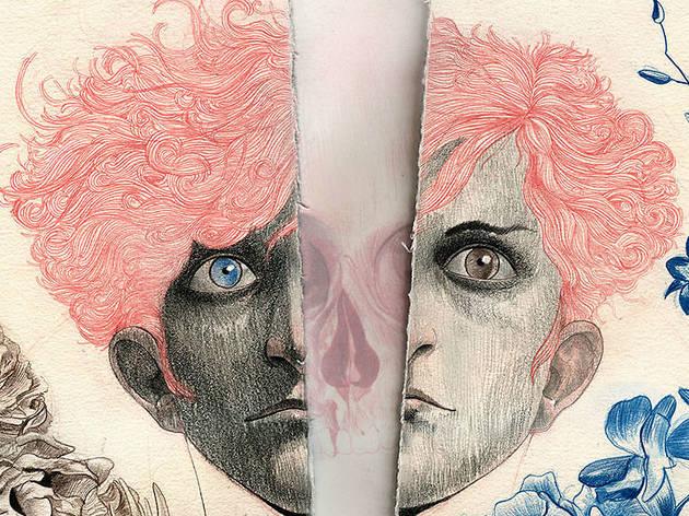 Detalle de ilustración  (Tomado de richardzela.com)