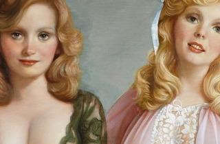 ( 'Lynette & Janette', détail, 2013 / © John Currin, Courtesy de la galerie Gagosian, photo by Rob McKeever)