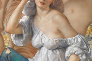 ( 'Tapestry', 2013 / © John Currin, Courtesy de la galerie Gagosian, photo by Rob McKeever)