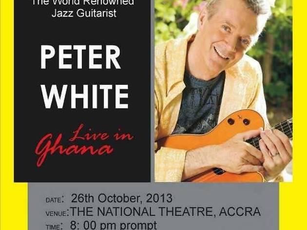 Jazz concert: guitarist Peter White