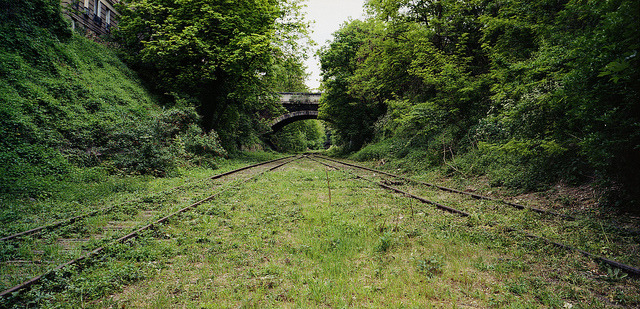 Loop the loop on La Petite Ceinture