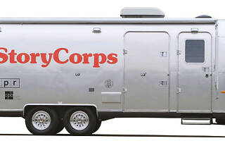 StoryCorps Mobile Booth interviews