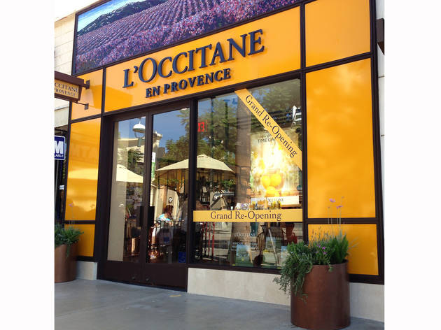 L'Occitane store re-opening party