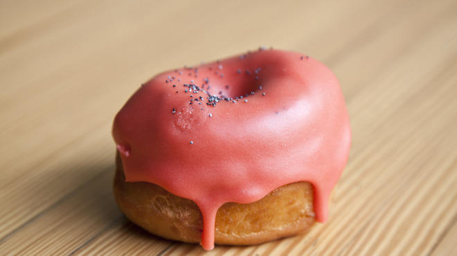 Blood Orange Doughnut at Dough Loco