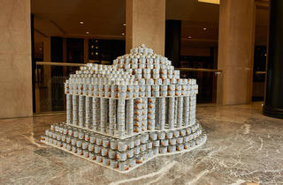 (Photograph: Canstruction New York and Kevin Wick Photography)