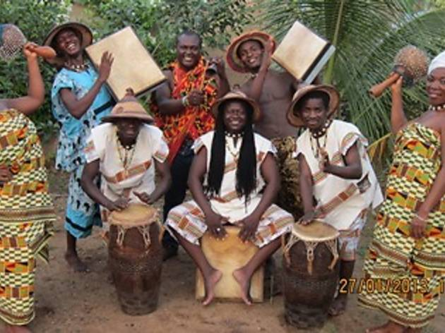 """Dela Botri and Yawuza Alhassan perform their new album """"Adidon Gbani"""" for the first time!"""