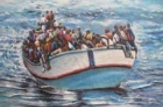 The Place Migration from Africa to Europe, Gother-Institut, Accra, Ghana