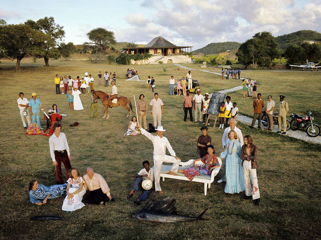 Mustique Group 1973