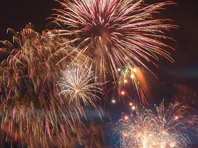 Southwark Park Fireworks