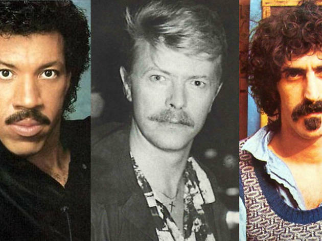 The greatest moustaches in music