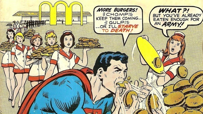 Que mangent les super-héros ?