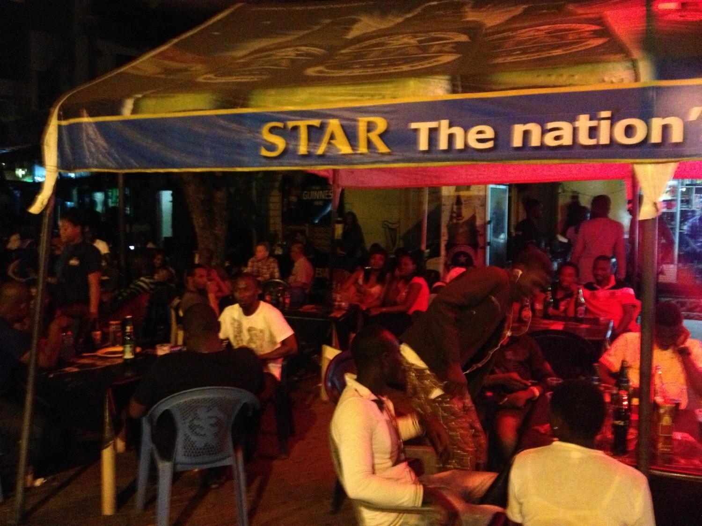 Lizzy's, Osu, Accra, Ghana