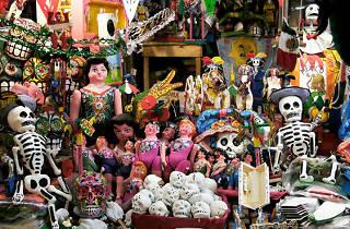 Día de los Muertos en La Malagueña