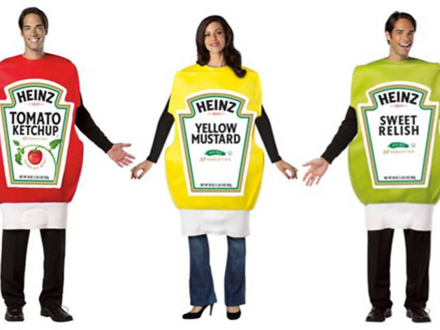 10/10 Heinz Relish Squeeze Bottle Costume $35 Menu0027s Heinz Ketchup Squeeze Bottle Costume $43 Adult Heinz Mustard Squeeze Bottle Costume $37 at Target  sc 1 st  Time Out & Halloween in Los Angeles: Best costumes for couples and groups
