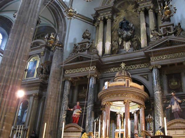 Altar Mayor de La Profesa (Foto: María José Cortés)
