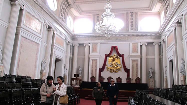 Salón de actos (Foto: María José Cortés)