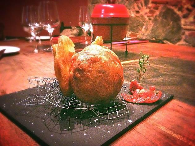Patates d'Olot. Lata-berna