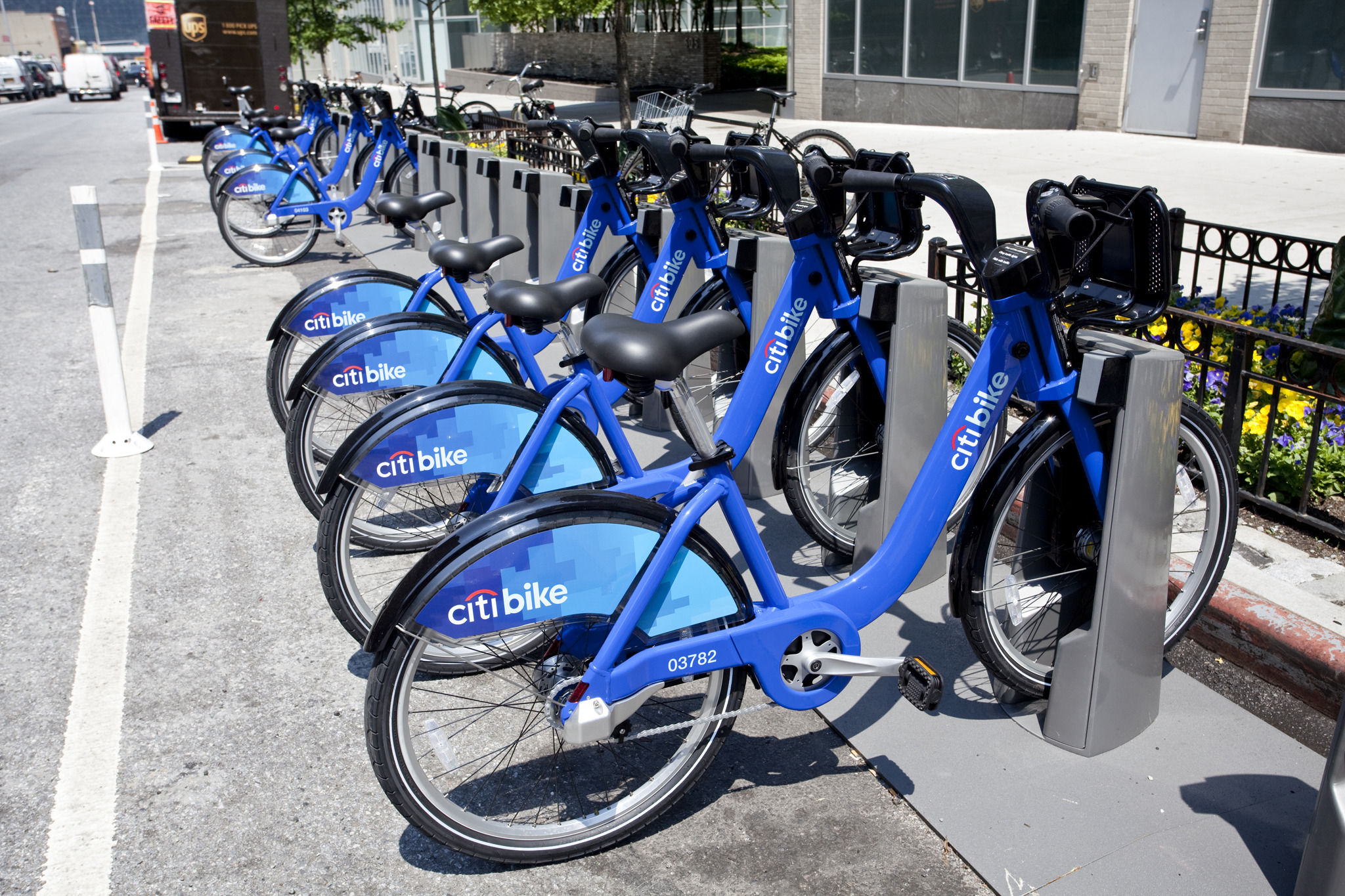 Check out a map of all the Citi Bike stations in NYC