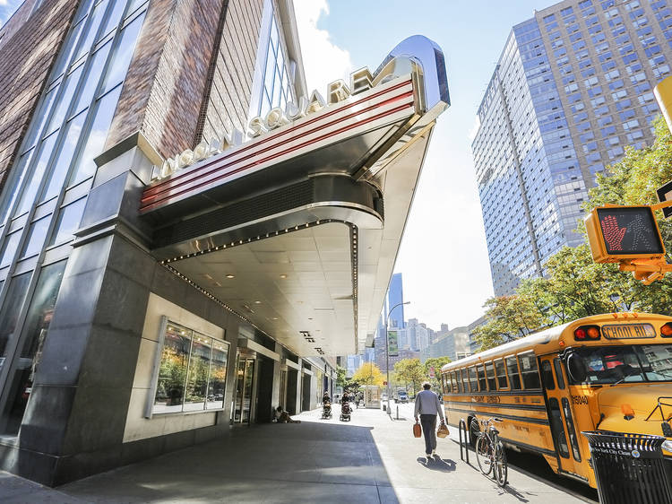 Best place to see a movie, big screen: AMC Loews Lincoln Square IMAX