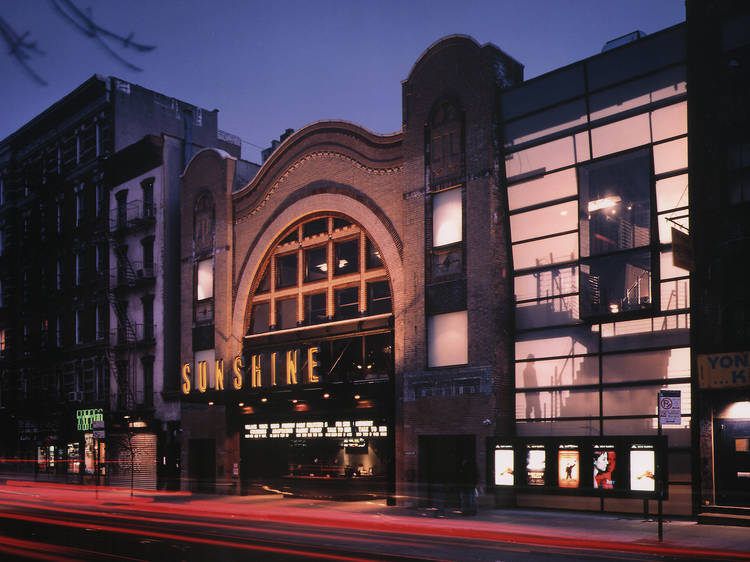 Best place to see a movie, small screen: Landmark's Sunshine Cinema
