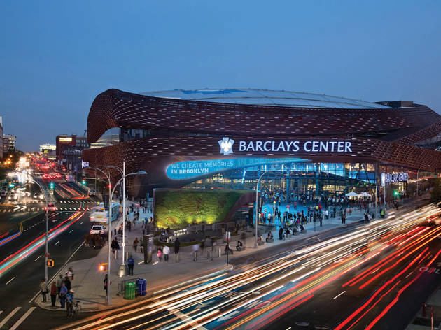 Best surprisingly cool big music venue: Barclays Center