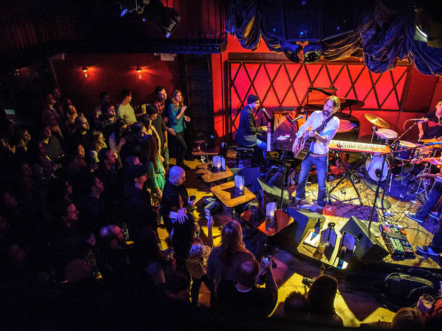 Best music venue for seeing up-and-comers: Rockwood Music Hall