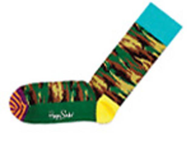Socks are fashion dynamite