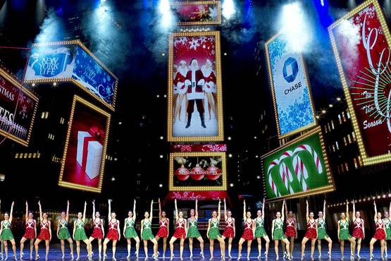 Behind the scenes of the Radio City Christmas Spectacular
