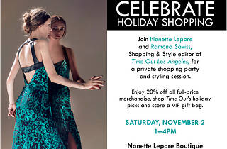 Nanette Lepore and Time Out LA Holiday Shopping Party