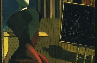 (Giorgio De Chirico, 'Le Prophète', 1915 / © 2013. Digital image, The Museum of Modern Art, New York / Scala, Florence)