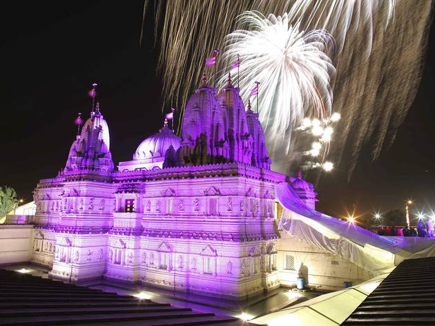 Diwali Neasden Temple