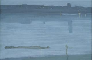 James Abbott McNeill Whistler ('Nocturne: Blue and Silver – Chelsea', 1871)