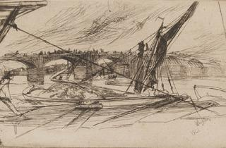 James Abbott McNeill Whistler ('Vauxhall Bridge', 1861)