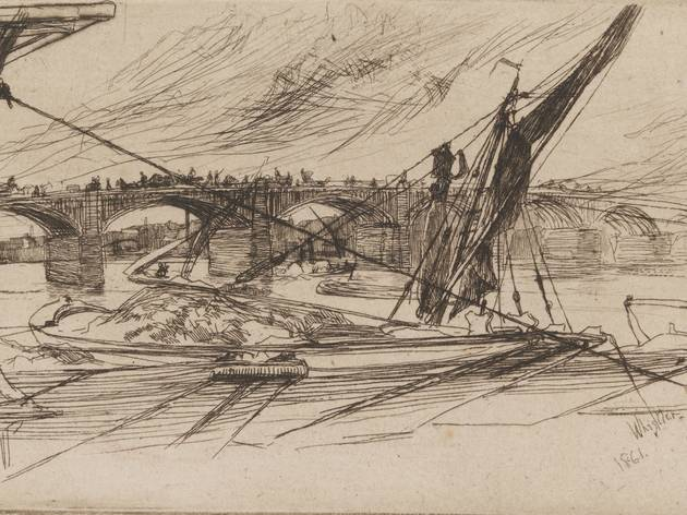 James Abbott McNeill Whistler ('Vauxhall Bridge', 1861)