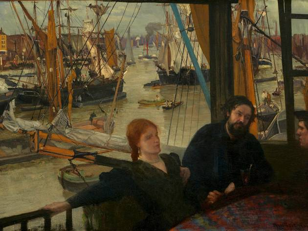 James Abbott McNeill Whistler ('Wapping' (1860))