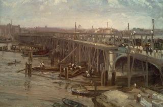 James Abbott McNeill Whistler ('The Last of Old Westminster', 1862)