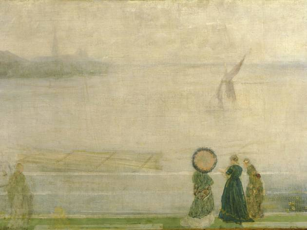 James Abbott McNeill Whistler ('Battersea Reach from Lindsey Houses', c1864-1871 )
