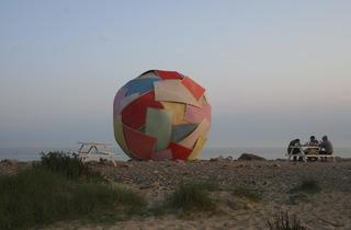 Andy Holden (The Naturist (Unofficial Sculpture for the Festival of Britain), Jaywick, Essex, 2011)