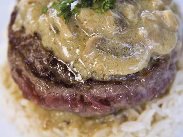 Mejor plato: Hamburguesa de foie (The Snob)