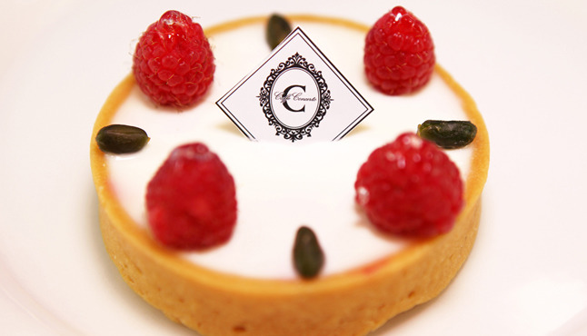 koreatown, cafe, korean cafes, caffe concerto, tart, cheesecake