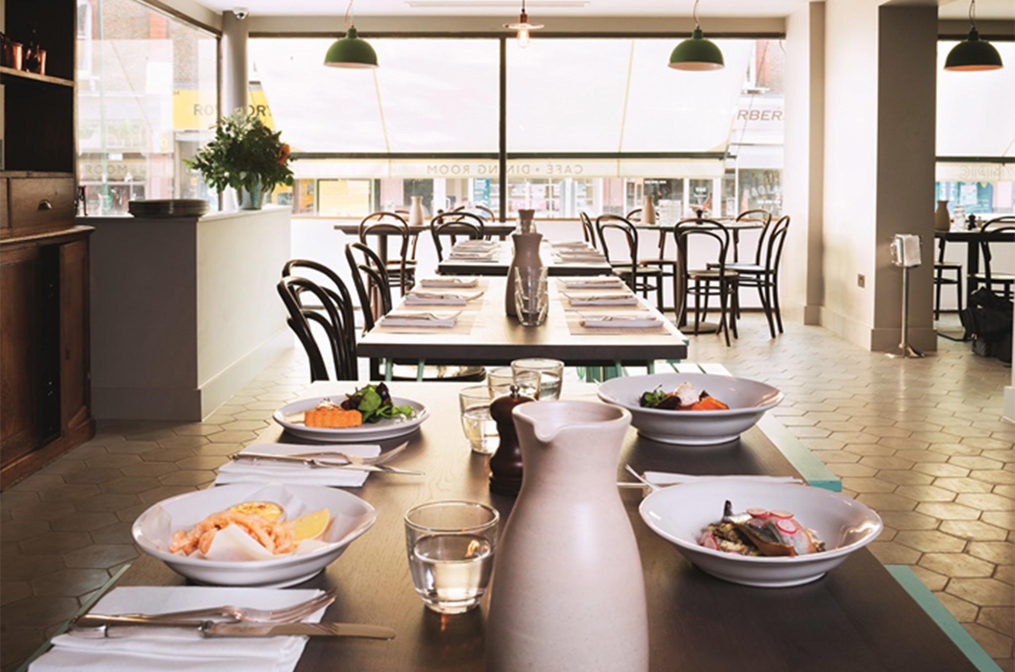 Olympic Café & Dining Room   Restaurants in Barnes, London