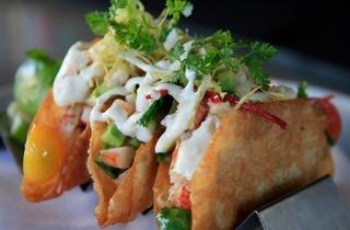 Shrimp and Lobster Tacos (Moretti Photo)